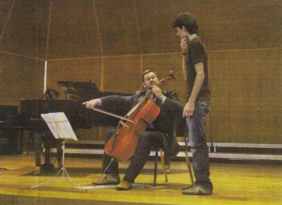 Leonid Gorokhov, Meisterkurs in Tübingen